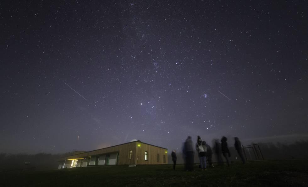 El cielo estrellado en el Zselici Csillagpark, en Hungría.