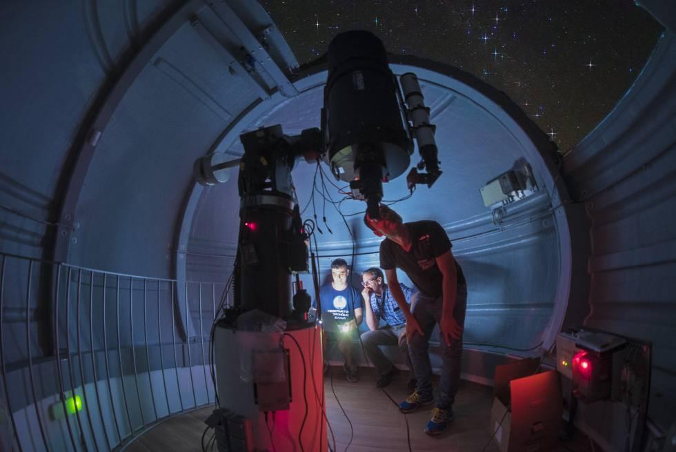 El observatorio de Albanyà, en Girona.