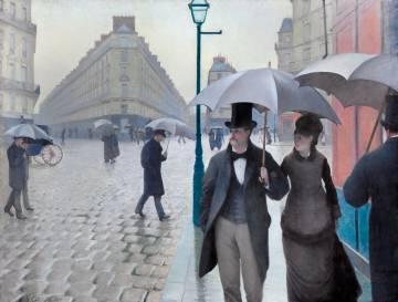 'Paris Street; Rainy Day', de Caillebotte.