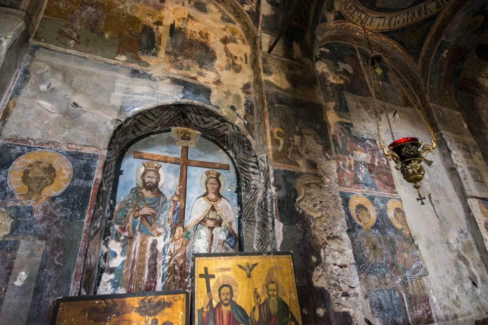 El monasterio de Pantanassa, en Mistrá.