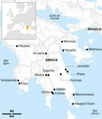 Soñando con el Peloponeso
