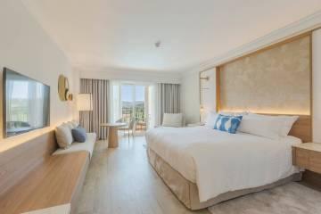 Una de las habitaciones del hotel Denia Marriott La Sella Golf Resort & Spa.