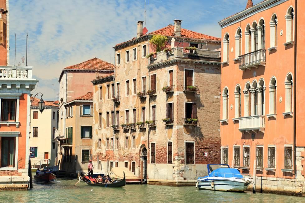 La casa del comisario Brunetti en Rio de San Polo, en Venecia.