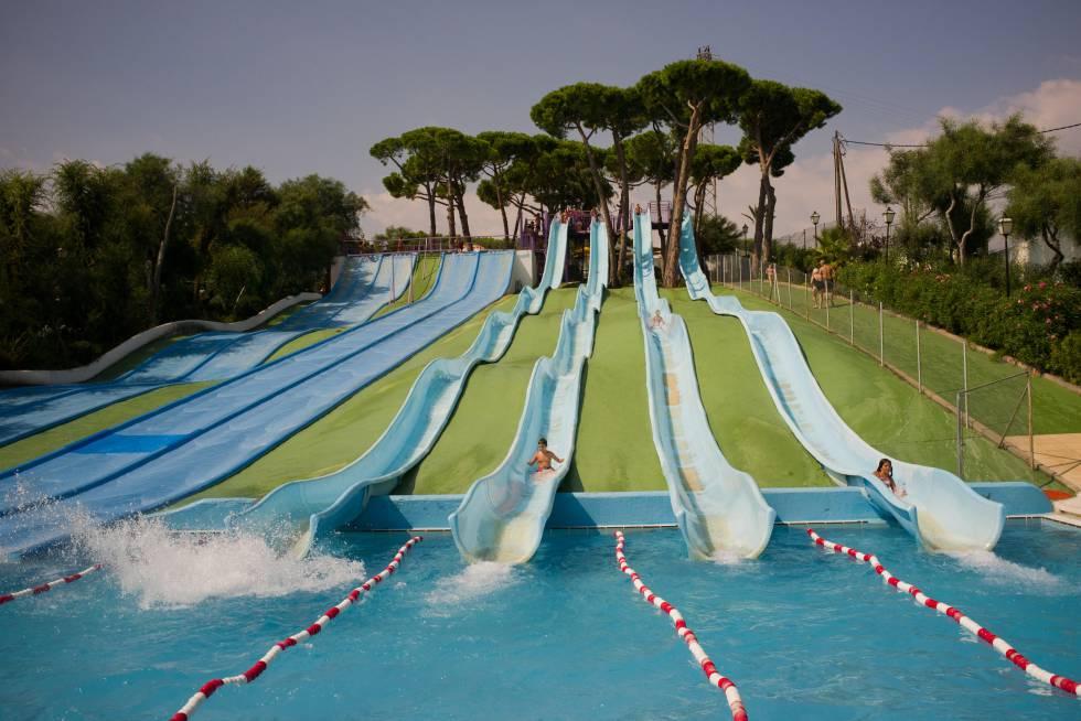 El parque de Illa Fantasia, en Vilassar de Dalt (Barcelona).