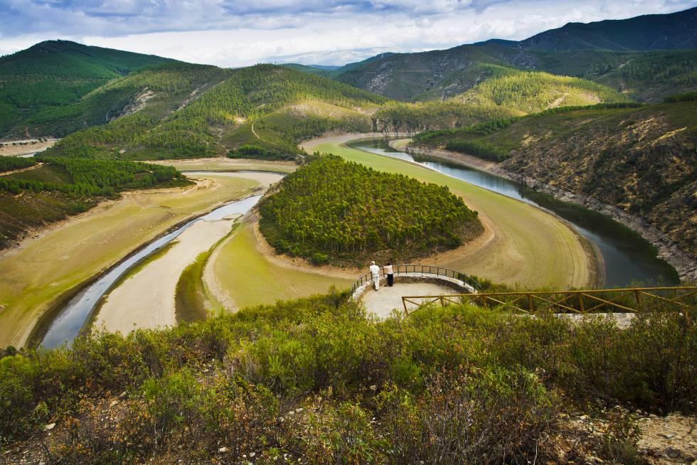 El Meandro del Melero, en Las Hurdes (Cáceres).