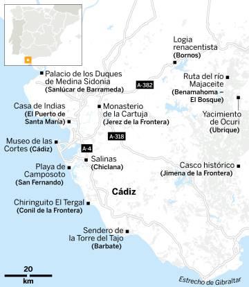 12 joyas escondidas de Cádiz