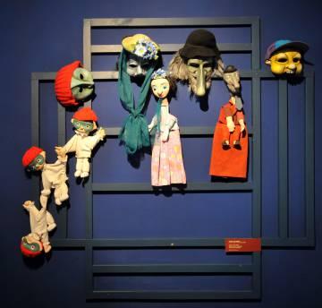 Títeres en el Museo de Marionetas de Chrudim, en Bohemia oriental.