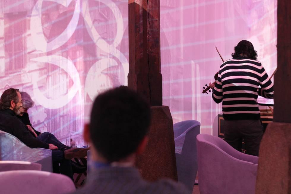 Transbaroque, un nuevo local de música barroca en el barrio de Las Letras.