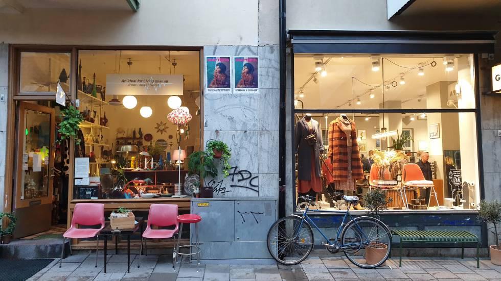La tienda de reciclaje y ropa de segunda mano Stadsmission.