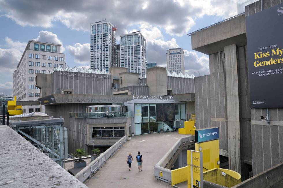 Ramp of the Hayward Gallery, in Southbank Center.
