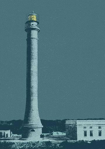 El faro de Navaza, situado en la isla caribeña homónima.