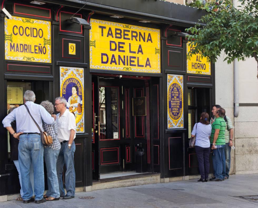 El local de La Daniela en la calle de los Cuchilleros, en el centro de Madrid.