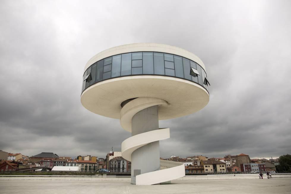 The Niemeyer Center of Avilés.