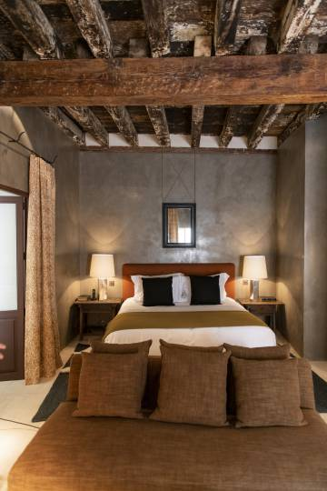 One of the rooms at Casa Taberna.