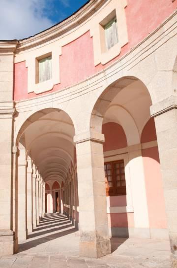 El palacio de Riofrío, en Real Sitio de San Ildefonso.