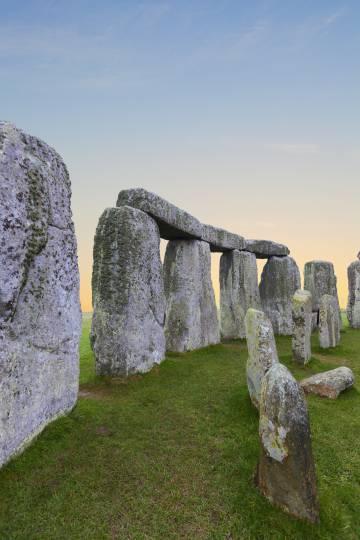 El monumento prehistórico de Stonehenge, en el condado inglés de Wiltshire (al suroeste del país).