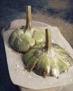 Artichoke dish from Mo de Movimiento.