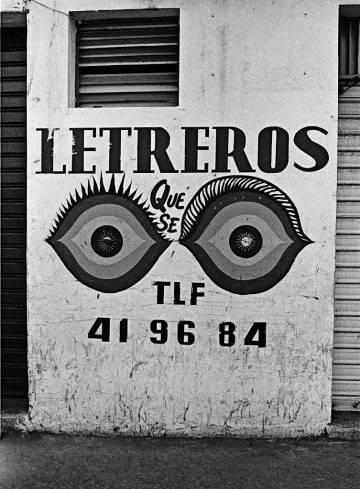 'Letreros que se ven', de Alexis Pérez-Luna, en la galería Le Mur (Madrid).