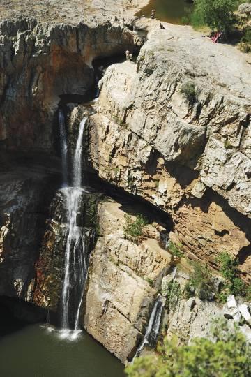 Paraje natural de la Cascada de Cimbarra.