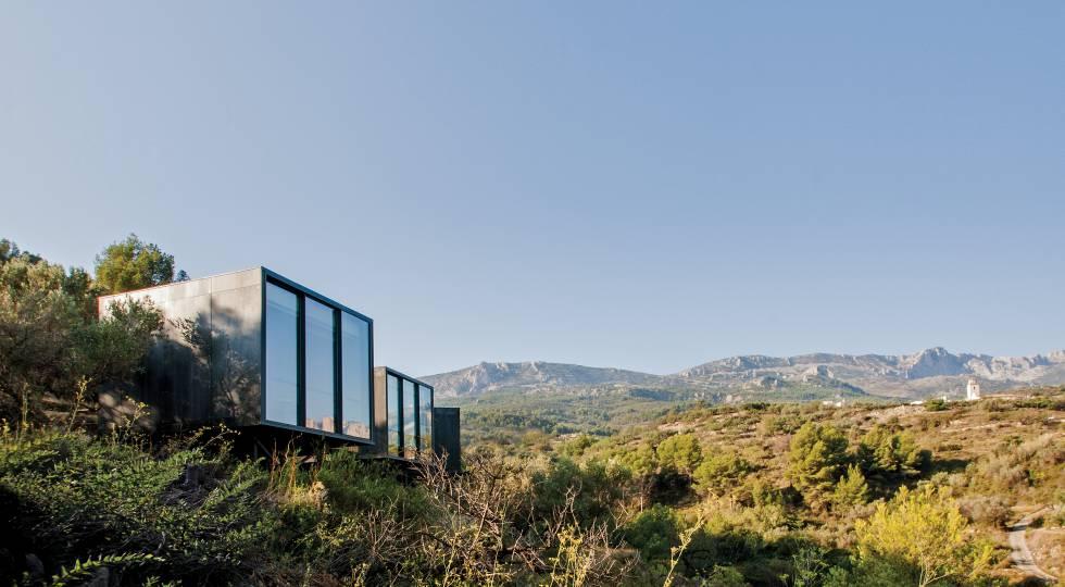 'Suite' doble del hotel Vivood, en Benimantell (Alicante).