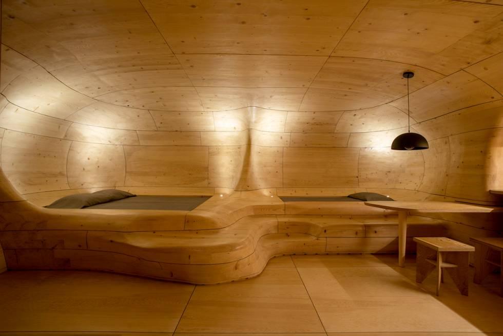 Instalaciones del 'resort' Hyades Mountain (Grecia).