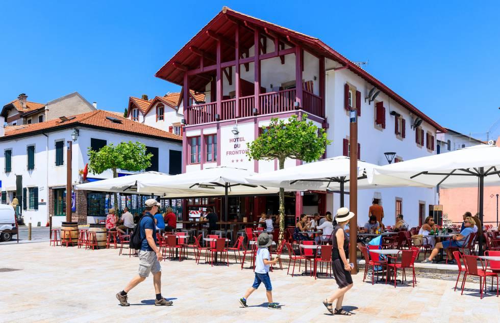 El pueblo de Bidart, en el País Vasco francés.