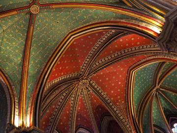 Detalle de la catedral de Bayona (Francia).