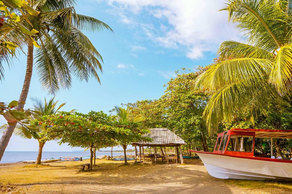 Playa Tárcoles, en la provincia de Puntarenas (Costa Rica).