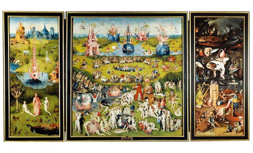 La obra el bosco en el museo del prado el pa s for El jardin de las delicias significado