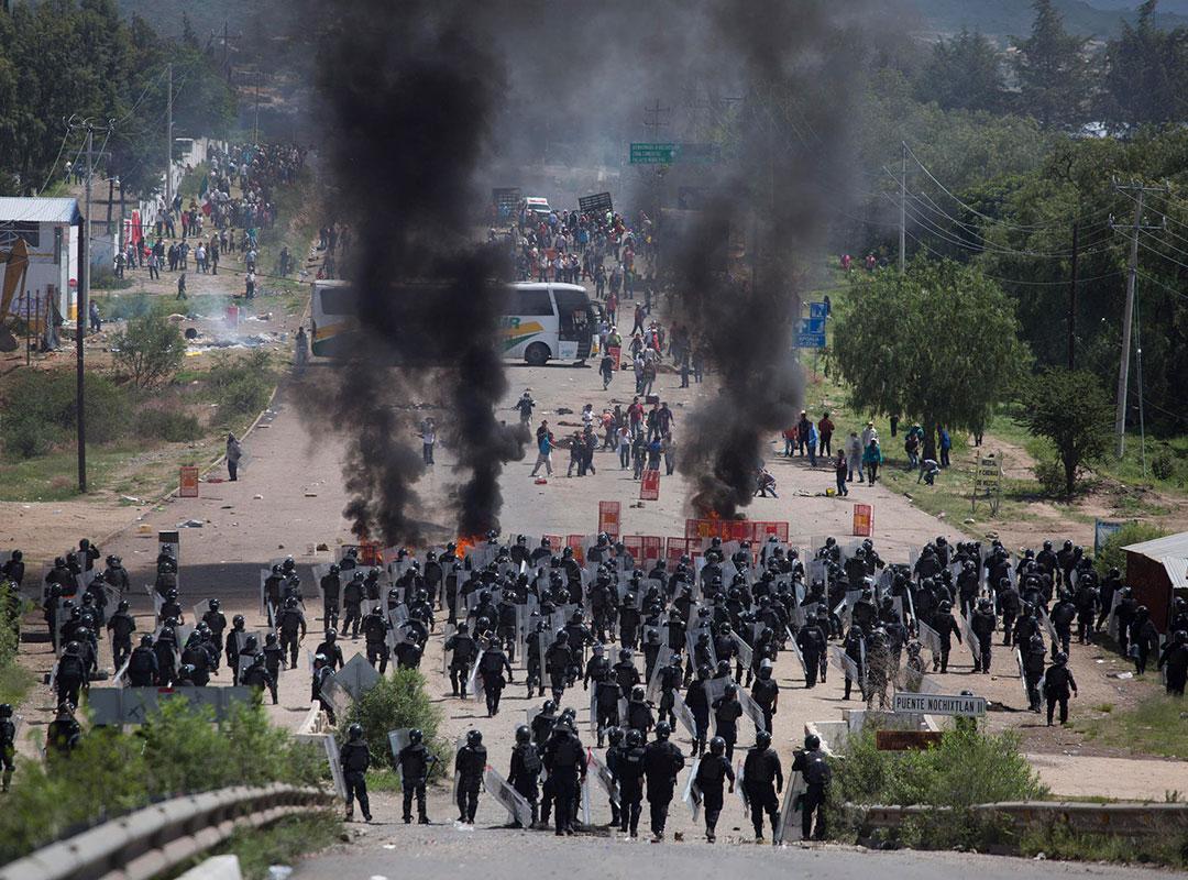 Efectivos federales y estatales cometieron graves violaciones en Nochixtlán: CNDH
