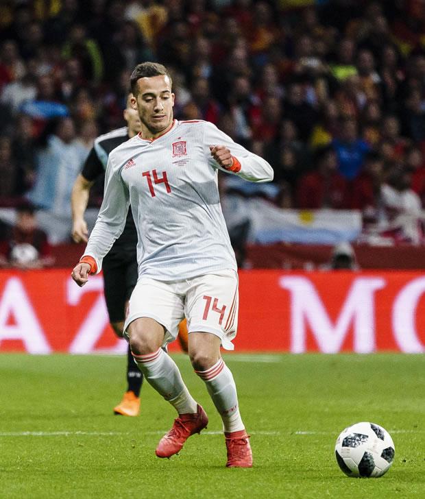 Lucas Moura De Que Pais Es: España En El Mundial Rusia 2018