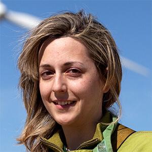 Esther Bayo, oficial técnico de Iberdrola