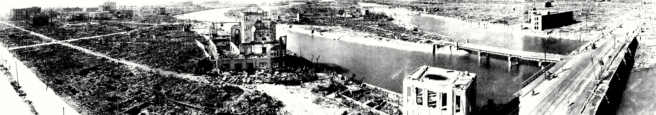 Panorámica después de la explosión
