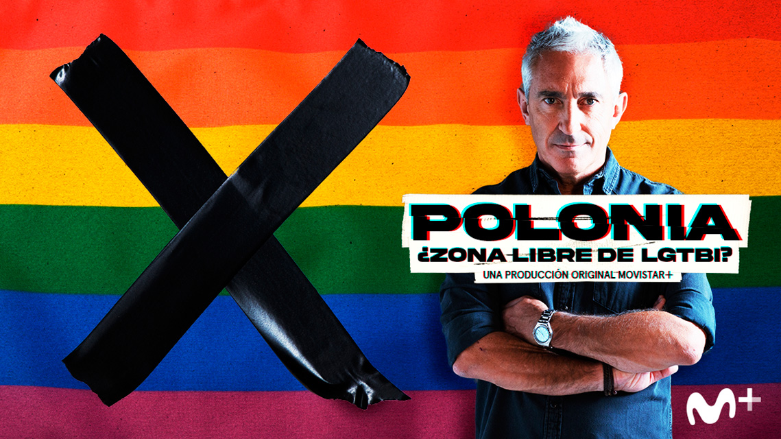 Cartel 'Polonia: ¿Zona libre de LGTBI?'