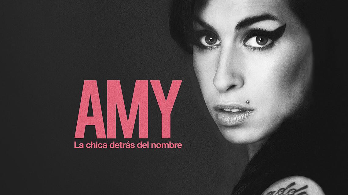 Cartel 'Amy (La chica detrás del nombre)'