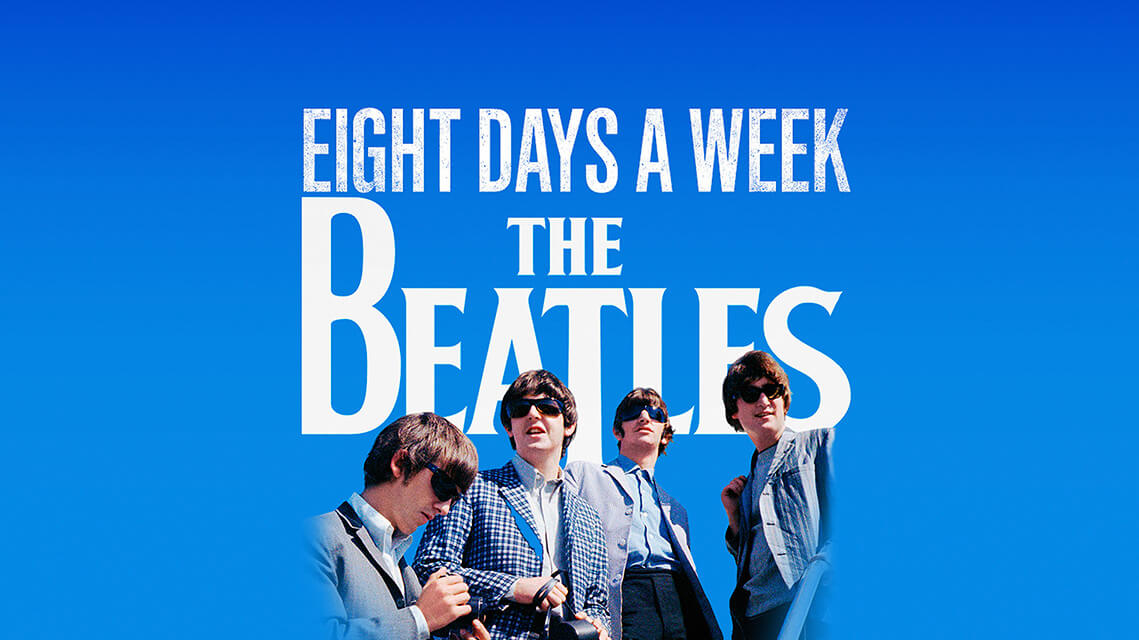 Cartel 'The Beatles: eight days a week. The touring years'