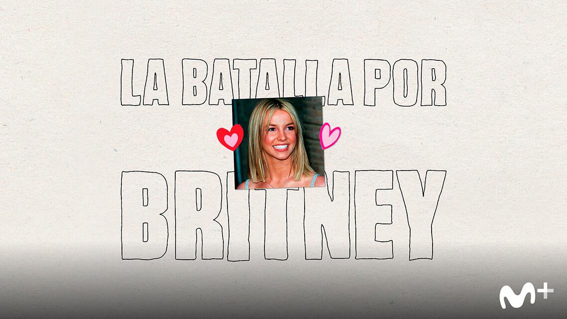 Cartel 'La batalla por Britney'