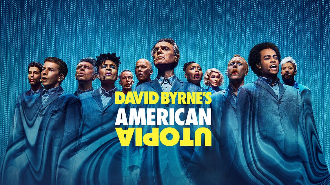 Cartel 'David Byrne's American Utopia'