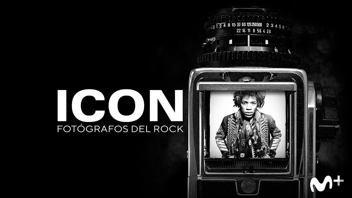 Cartel 'ICON. Fotógrafos de rock'