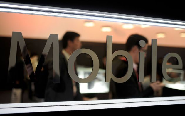 Visitantes en el Mobile World Congress 2015
