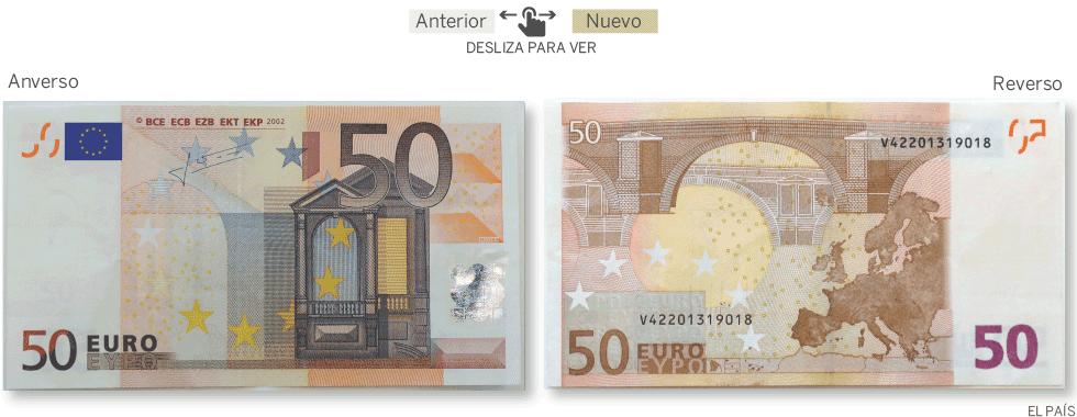 Foto de un billete de 50 euros 18