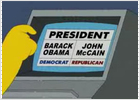 Homer Simpson intenta votar a Obama... pero la máquina escoge a McCain