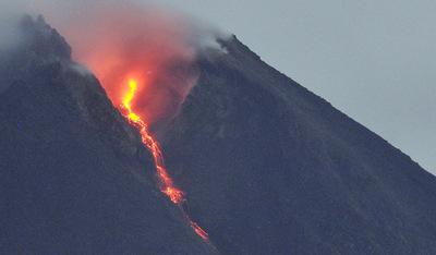Resultado de imagen de Volcán Merapi de Indonesia erupcion
