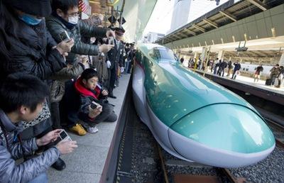 el tren bala japon233s estrena un nuevo modelo