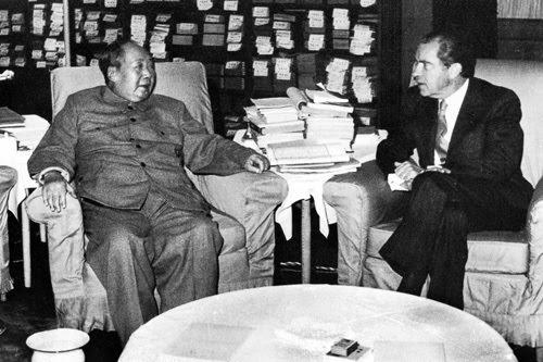 Resultado de imagen de visita de nixon a china en 1972