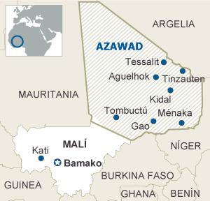 Nace en el corazón de África el Estado islámico del Azawad ...