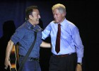 Bill Clinton y Bruce Springsteen unen fuerzas por Obama