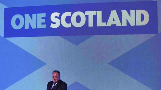 Alex Salmond reconhece a derrota.