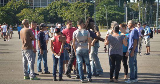 La policía cubana detiene a más de 80 disidentes en tres días