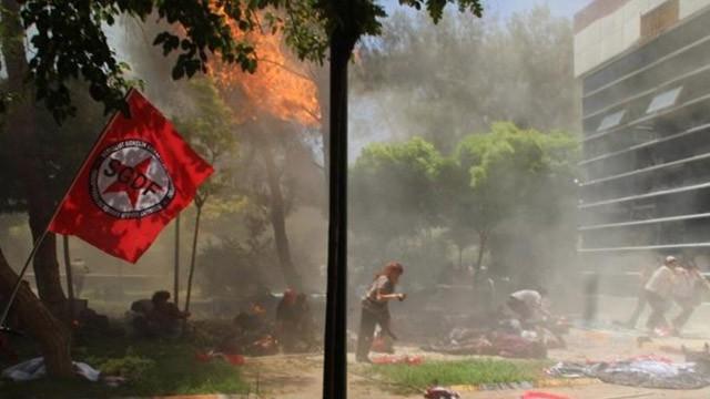 Imagem do atentado